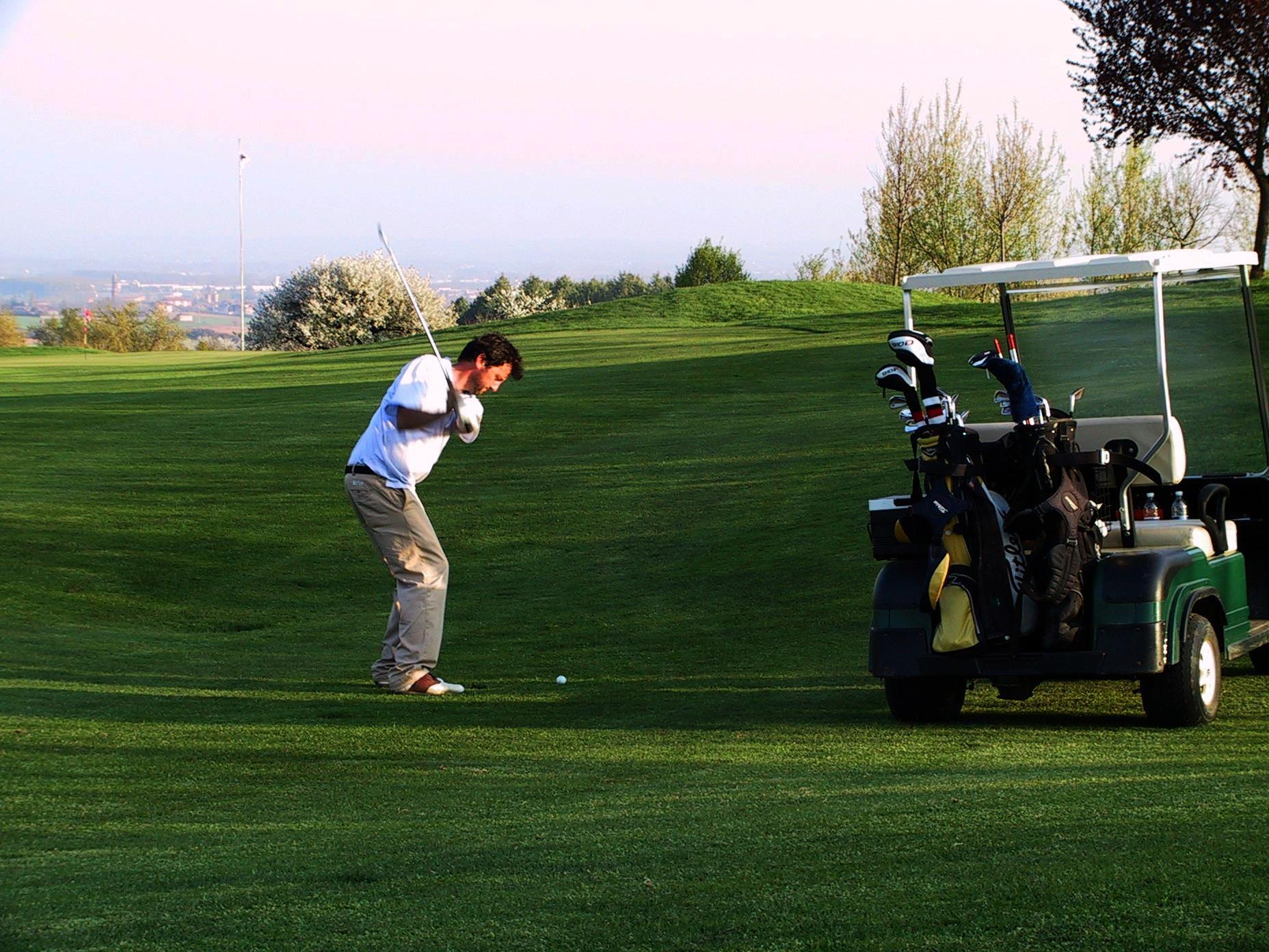 approccio al golf